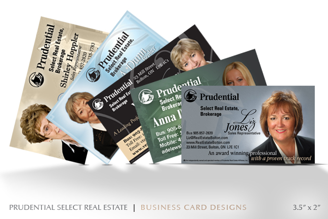 Yestek inc portfolio business cards prudential select real estate reheart Choice Image
